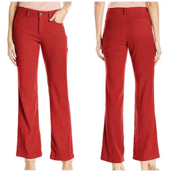NYDJ Pants - NYDJ stretch linen trousers